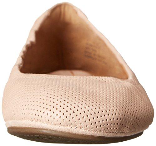 Clarks Grayson Erica Ballet piatto Nude Perfed Leather