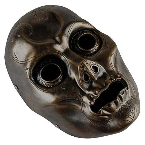 DYMAS Accesorios de Terror Harry Potter Muerte Eater Máscara máscara Resina