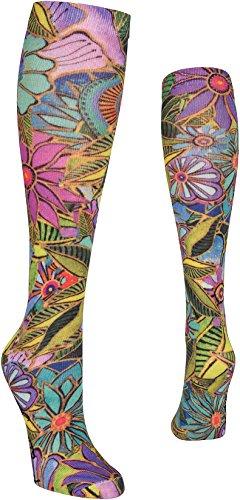 K-Bell Laurel Burch Knie Hohe Socken, Mehrfarbig, 38,1x 8,89x 1,77cm
