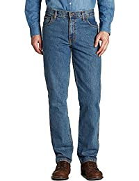Wrangler Mens New Texas Stonewash Stretch Straight Leg Jeans. **30 to 48