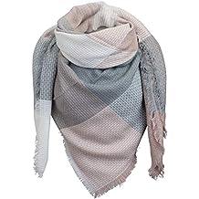 219b04c5932c PiriModa XXL écharpe écharpe d hiver écharpe à Carreaux Couverture Rigide  Carreaux Double ...