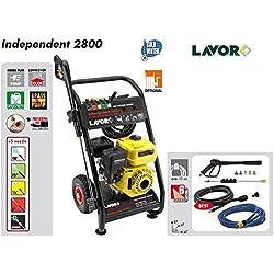 Lavor Independent 2800 Nettoyeur à haute pression 200bar maximum, 690L/h maximum, moteur à explosion 4temps 6,5HP