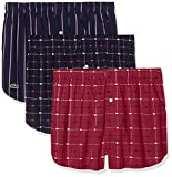 Lacoste Underwear Herren Boxershorts Multipack Boxer, 3er Pack, Mehrfarbig (Sortiert 2 908), X-Large