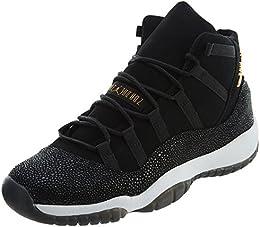 Nike Chaussures Femme Air Jordan 11 Retro Prem HC en Cuir Noir 852625-030