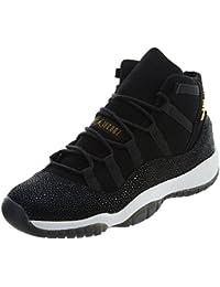 huge discount 68806 b1d09 Nike Womens Shoes Air Jordan 11 Retro Prem HC In Black Leather 852625-030