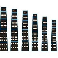 FineFun Violin Finger Guide/Fingerboard Sticker Fret guide Label Finger Chart For Full Size