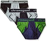 Chromozome Men's Cotton Brief (Pack of 3...