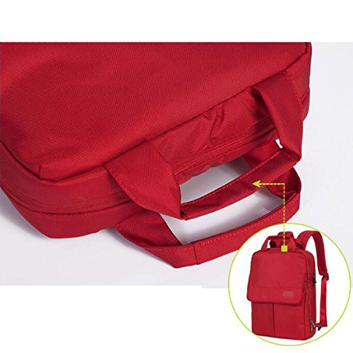 Rucksack Frau Freizeit Multifunktions Business Computer Paket Multicolor Red