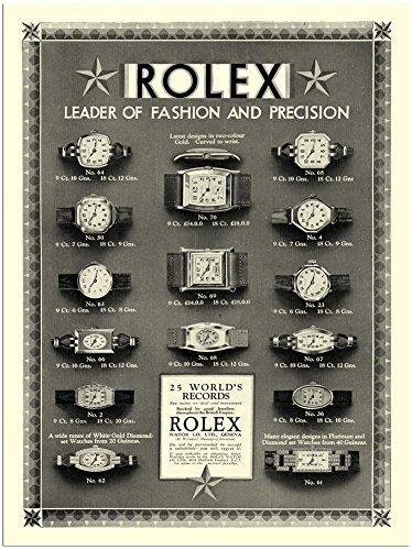 rolex-watches-vintage-advertisement-1920s-30x40cm-art-print