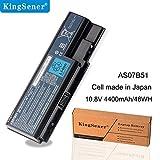 KingSener AS07B51 - Batteria per laptop Acer Aspire 5520 5520G 5920G 5715Z AS07B31 5710 5720 5739 5920 5930 AS07B61 10,8 V 4400 mAh