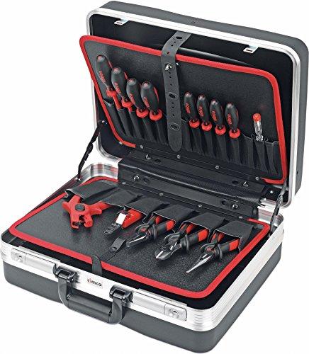 Cimco 170175 Elektriker Werkzeugkoffer Bestückt 15teilig (L x B x H) 465 x 310 x 170mm