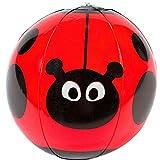 German Trendseller® - Wasserball Marienkäfer ┃ Mit Punkten ┃ Pool ┃ Pool Party ┃ Der Ideale Wasserball für kleine Wasserratten ✔