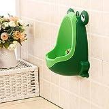 3colores Cute rana orinal inodoro para niños Entrenamiento Infantil para Niño Pee Urinario Trainer cuarto de baño