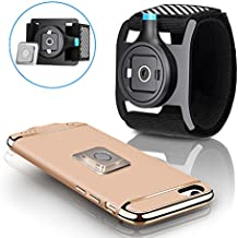 TONGYE Black Universal Sports Armband [easy On/Off & Perfect Comfort Level], perfect for iPhone 7 / 7 Plus/ 6s / 6s Plus, Samsung, Huawei, other Smart Phones, (Fits all Phone Cases)