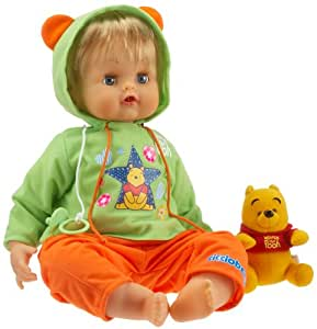Giochi Preziosi - Poupée interactive - Cicciobello Winnie l'Ourson the Pooh