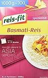 reis-fit Basmati Reis im Kochbeutel, 6er Pack (6 x 1 kg)