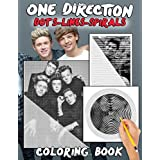 One Direction Dots Lines Spirals Coloring Book: Great gift for girls and teens who love One Direction with spiroglyphics colo
