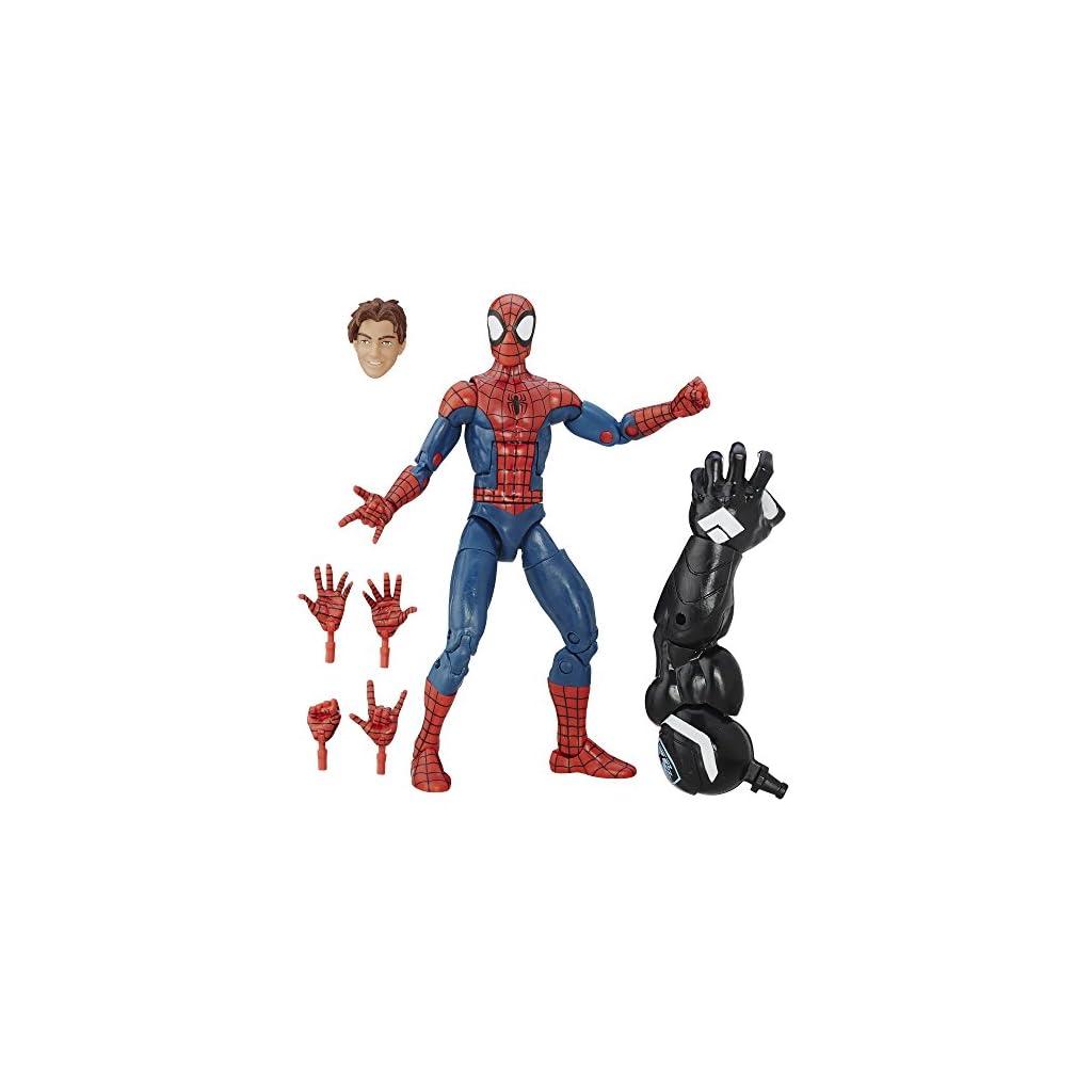 Construye una Figura de Marvel Venom Legends Series «Spiderman Peter Parker», Figura de 15,24 cm 7