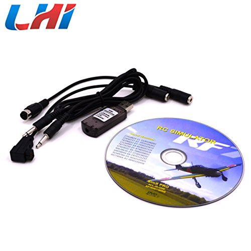 Preisvergleich Produktbild LHI RC Simulator 22 in 1 USB Flight Simulator Cable for Realflight G7 / G6 G5.5 G5