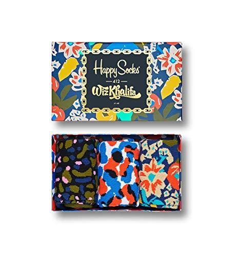 Happy Socks Geschenkbox WIZ KHALIFA GIFT BOX XWIZ08-6000 Navy, Size:36-40