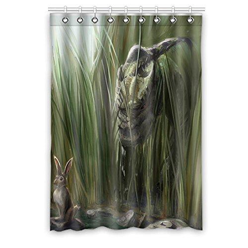 """Personalizado dinosaurio (1) cortina de ventana """"50(W) X 84pulgadas (H) impermeable tejido de poliéster, One-Side impresión, estilo de una pieza (9orificios), poliéster, Dinosaur(3), 50x84(inches)"""