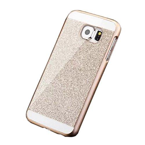 FEITONG Schutzhülle für Samsung Galaxy S6 Edge Luxus Diamantkristallrhinestone Tasche Schalen Hülle