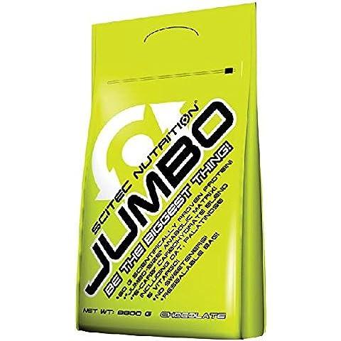 Scitec nutrition jumbo, 4400g aumentador de masa muscular