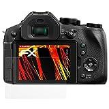 atFoliX Folie für Panasonic Lumix DMC-FZ300 Displayschutzfolie - 3 x FX-Antireflex-HD hochauflösende entspiegelnde Schutzfolie