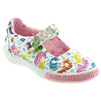 Lelli Kelly Mermaid Dolly Girls Canvas Shoes