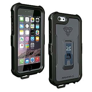 coque armor x waterproof x mount pour phone 5s coloris noir high tech. Black Bedroom Furniture Sets. Home Design Ideas