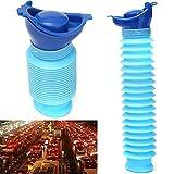 Forfar 1Pc Urinario 750ml Kids Car Travel Camping micción Orina de baño Pee Dispositivo Botella Unisex Portable Male Male Female