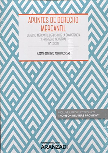Apuntes de derecho mercantil (Manuales) por Alberto Bercovitz Rodríguez-Cano