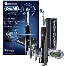 Oral-B Pro 7000 SmartSeries Black - Cepillo de dientes eléctrico recargable con conectividad Bluetooth