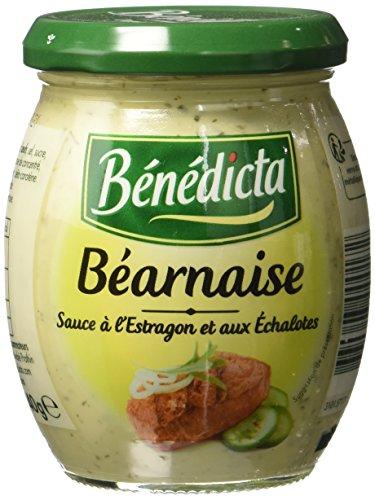 Benedicta Sauce Béarnaise Légère 240 g - Lot de 4