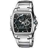 Casio Edifice – Herren-Armbanduhr mit Analog/Digital-Display und Edelstahlarmband – EFA-120D-1AVEF