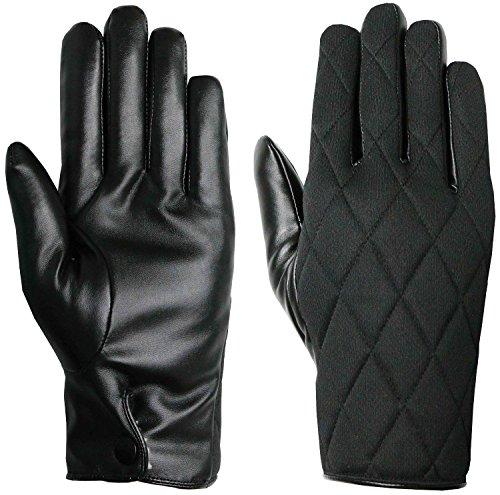gants-unisexe-noir-thinsulate-matelasses-avec-faux-cuir-palm-par-gants-easy-off-moyen-eu-9
