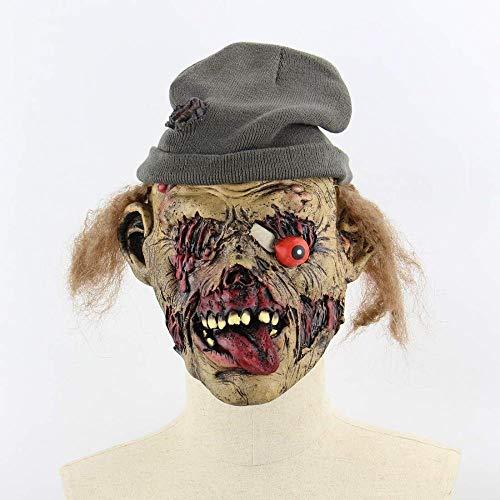 Maske Maskerade Prom Maske Halloween Zombie Ekelhaft Horror Maske Horrible Supplies Outdoor Süßes oder Saures Für Kostüm Maskerade Party Cosplay Haunted - Süßes Oder Saures Kostüm