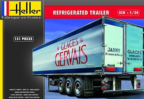 Heller 80776 - Modellbausatz Refrigerated trailer (Trailer Travel Toy)
