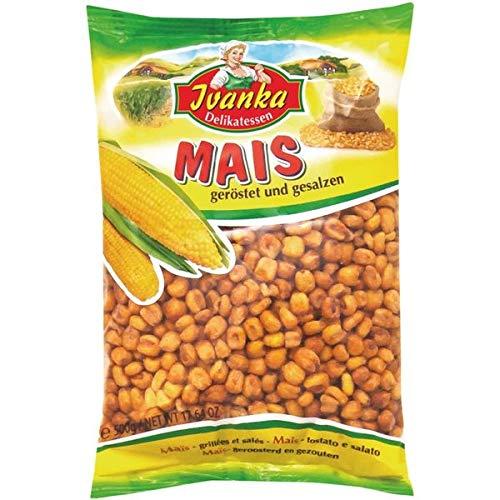 Mais geröstet und gesalzen im 500g Beutel von Ivanka
