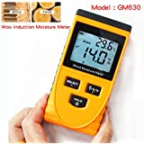 Shopystore Gm630 Induction Wood Moisture Meter Temperature Humidity Tester Induc