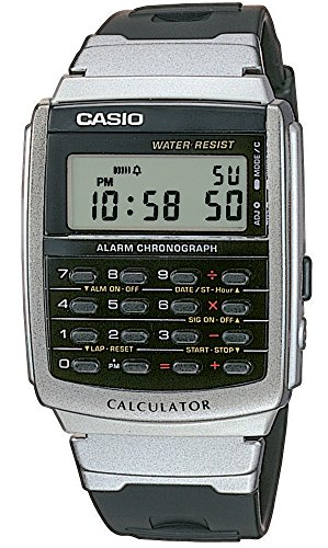 Casio Herren Digital mit Resin Armbanduhr CA561ER