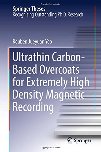 Preisvergleich Produktbild Ultrathin Carbon-Based Overcoats for Extremely High Density Magnetic Recording (Springer Theses)