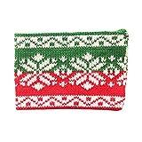 Kaikso-In Blue Vessel Weihnachts-Strick Wolle Tasse Set Weihnachten Jacquard Strick Becher Set (A)