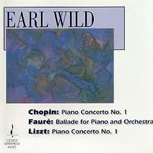 Chopin, Faure, Liszt: Klavier Musik