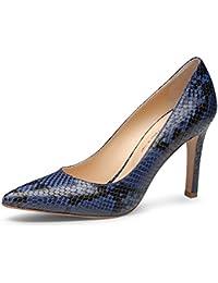 Melluso Zapatos de Tacón D100 Noche decollet Estiramiento de La Piel de Cuero Mujer 37.5 ZkXsdbli