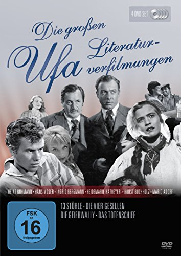 Die Grossen UFA Literaturverfilmungen [4 DVDs]