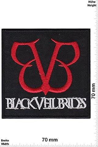 Patches - Black Veil Brides - US Metalcore-Band - MusicPatches - Rock - Vest - Iron on Patch - Applique embroidery Écusson brodé Costume Cadeau- Give