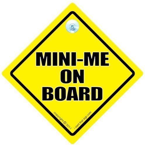 i, Mini, Auto Me Me Me, Mini, Baby on Board