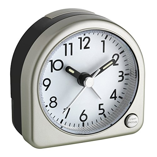 TFA Reloj Despertador electrónico Dorado