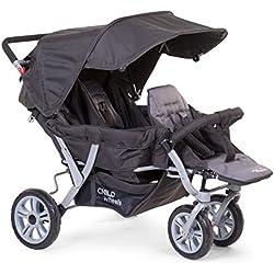 Childwheels Poussette CWTRIP voiture de sport, anthracite